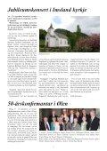 Kyrkjejubileum: Imsland kyrkje 150 år - Hyrdingen - Page 7