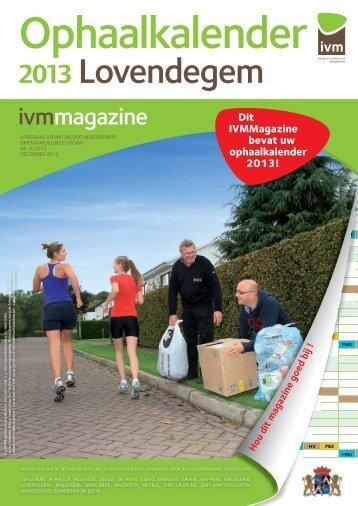2013 Lovendegem - Gemeente Lovendegem