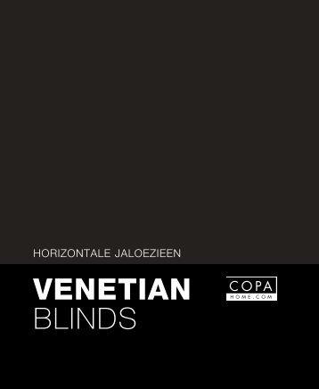 Aluminium venitians - Copahome