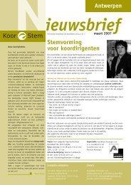 Stemvorming voor koordirigenten - Koor & Stem