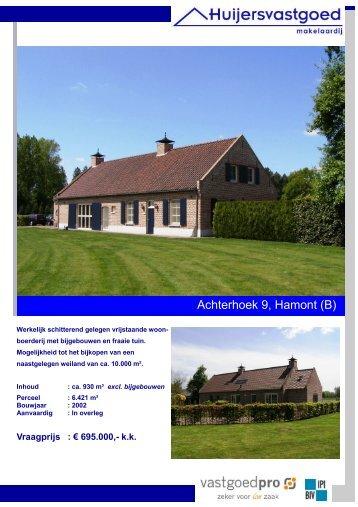 Brochure Achterhoek 9 Hamont - Huijers Vastgoed Makelaardij