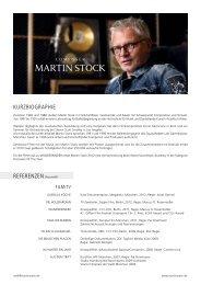 Vita als download - Martin Stock