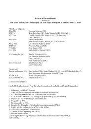 Referat fra KDA formandsmøde oktober 2002