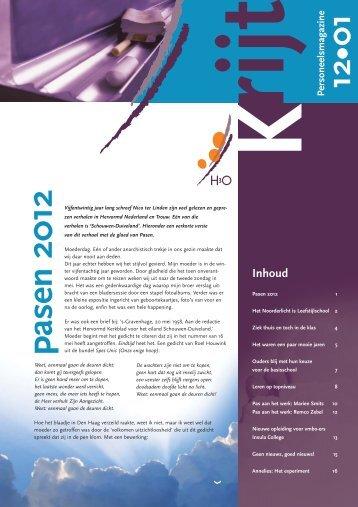 Pasen 2012 - Stichting H3O
