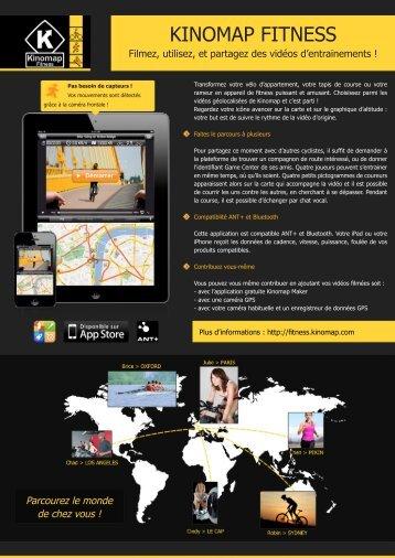 Commande cmd_9 - Fiche Produit Fitness.indd - Kinomap Trainer