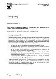Drs. 6/2278 - SPD-Landtagsfraktion Sachsen-Anhalt