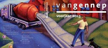voorjaar 2013 - Uitgeverij Van Gennep