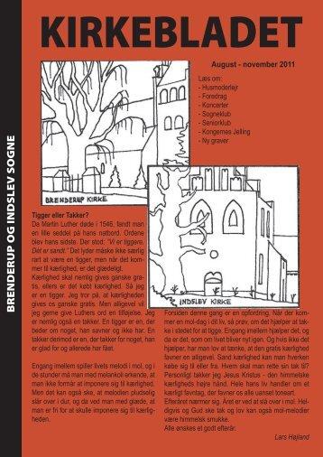 efterår 2011 - Brenderup Indslev Kirke