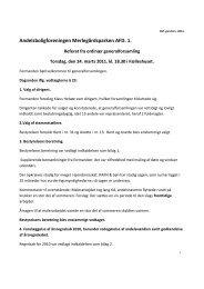 Referat af generalforsamling 24.03.2011