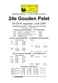 24° GOUDEN PALET - Les3bping - Page 2