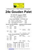 24° GOUDEN PALET - Les3bping - Page 3
