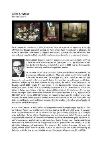 Julien Creytens - Brugse verenigingen