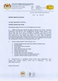 Senarai Semak Bayaran - Jabatan Kerja Raya