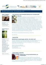 10 juni 2007 (pdf, nieuw venster) - Instituut Samenleving en ...