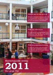 Maatschappelijk verslag 2011 - De Lange Wei