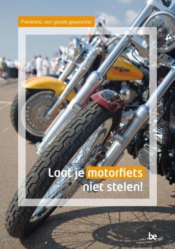Laat je motorfiets niet stelen.pdf - Algemene Directie Veiligheid en ...