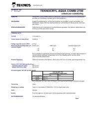 TEKNOCRYL AQUA COMBI 2780 - mifa.no
