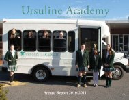 Annual Report 2010-2011 - Ursuline Academy