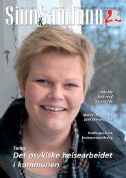 Sinn & Samfunn nr 1, 2011 - Mental Helse