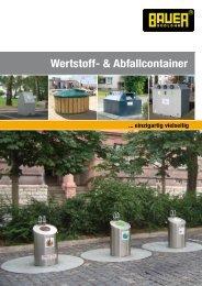 Wertstoff- & Abfallcontainer - Bauer Gmbh