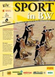 Download Sport in bw Nr. 11/09 - Badischer Sportbund Nord ev