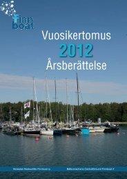 Vuosikertomus 2012 - Finnboat