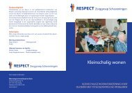 brochure kleinschaligwonen.pdf - RESPECT Zorggroep Scheveningen