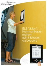 ELS VisionTM - Electrolux Laundry Systems