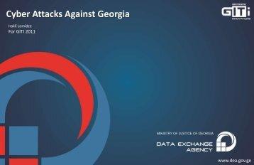 Cyber Attacks Against Georgia