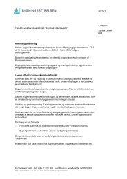 Procedure Vedr Statsbyggesager - Bygningsstyrelsen