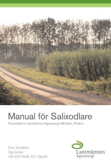 Manual för salixodlare - Bioenergiportalen