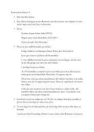 Kristendom lektion 4 • Den katolska kyrkan ... - Religionskunskap