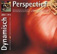 Dynamisch Perspectief 2003 - 6 - BD-Vereniging
