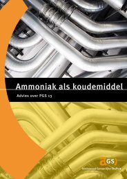 'Ammoniak als koudemiddel' [pdf] - Raad voor de leefomgeving en ...