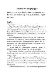 Tennis for unge piger - Pornobiblioteket.dk