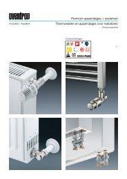 Thermostaten en appendages voor radiatoren - Nathan Import/Export