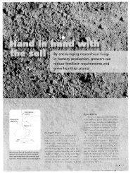 Digger Farwest Edition, August 2011 - Mycorrhizal Applications, Inc.