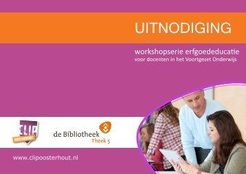 UITNODIGING - CLIP Oosterhout