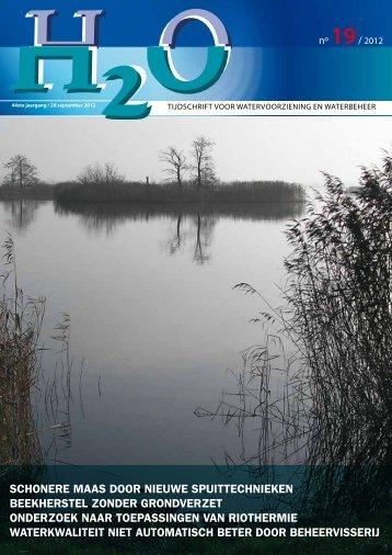 Vakblad H2O nr. 19, 28 september 2012 - H2O - Tijdschrift voor ...