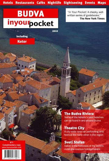 The budva Riviera Theatre City Sveti Stefan Kotor - In Your Pocket