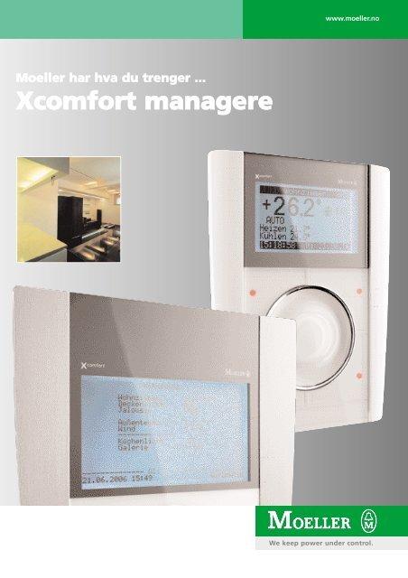 Xcomfort managere - Moeller