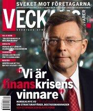 nordeas nye vd Christian Clausen - Veckans Affärer