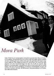 Mora Park håller fast vid humana och kärleksfulla omsorger ... - Intra