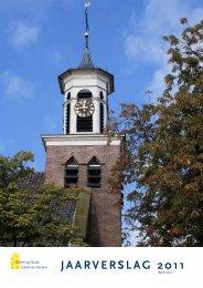 JAARVERSLAG 2011 - Stichting Oude Gelderse Kerken