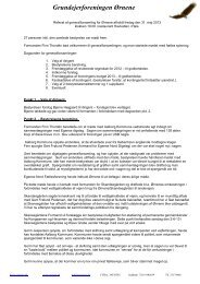 Referat fra Generalforsamlingen 2013 - Grundejerforeningen Oernene