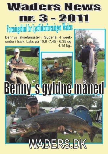 Waders News nr. 3, 2011 - Lystfiskerforeningen Waders