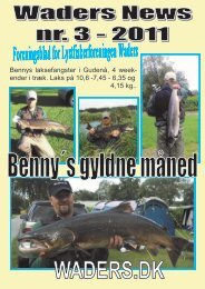 Waders News nr. 3, 2011 - Lystfiskerforeningen Waders