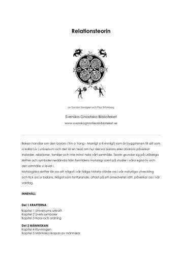 Relationsteorin - Svenska Gnostiska Biblioteket