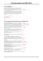 Korrekturzeichen nach DIN 16511 - text plus form