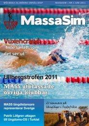 juni 2011 - Mölndals Allmänna Simsällskap